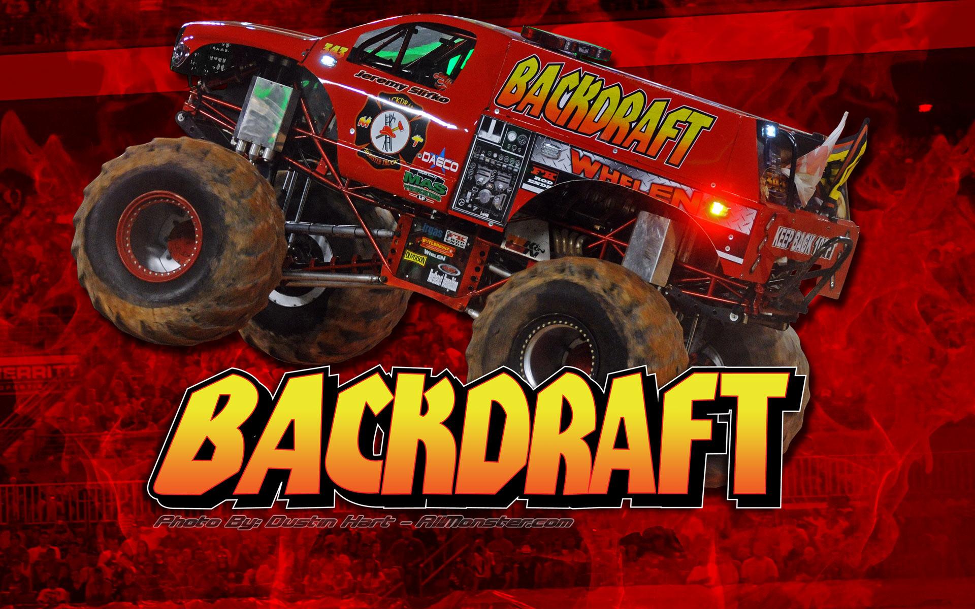 backdraft monster truck wallpaper