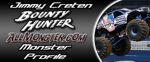 Jimmy Creten - Bounty Hunter - Monster Profile