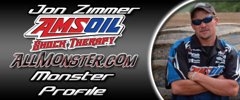 Jon Zimmer Amsoil Shock Therapy Monster Profile