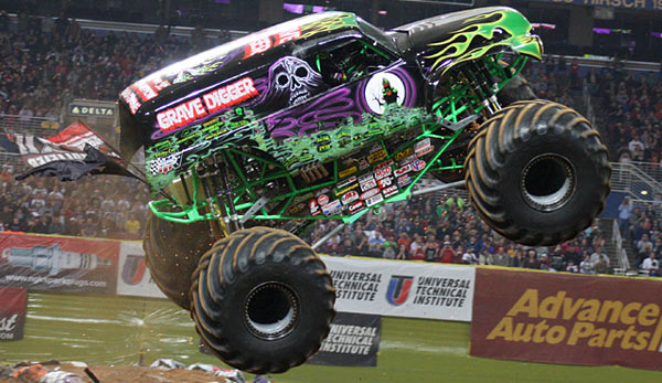 Dennis Anderson's Grave Digger
