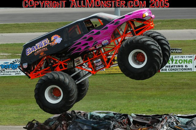 Monster Jam in Birch Run, Michigan