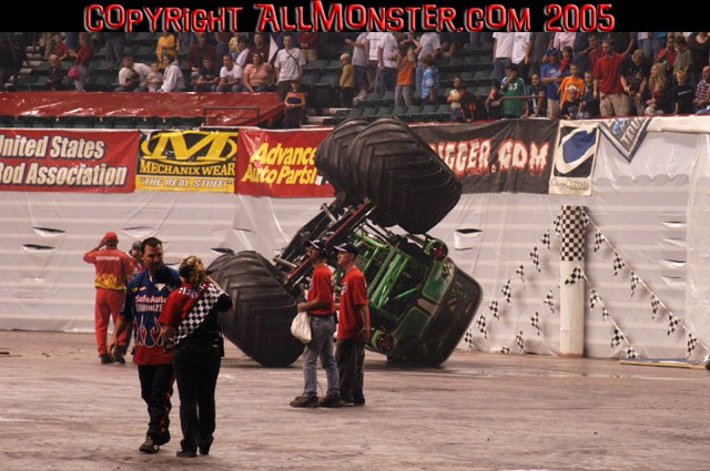 monster jam freestyle