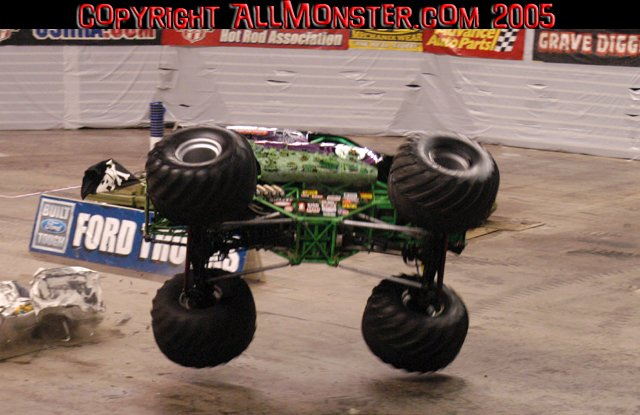 Grave Digger Freestyle