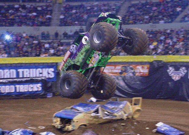 Randy Brown in Grave Digger